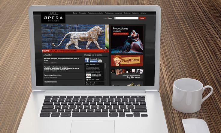 Diseño web para Opera Oviedo por Impact 5