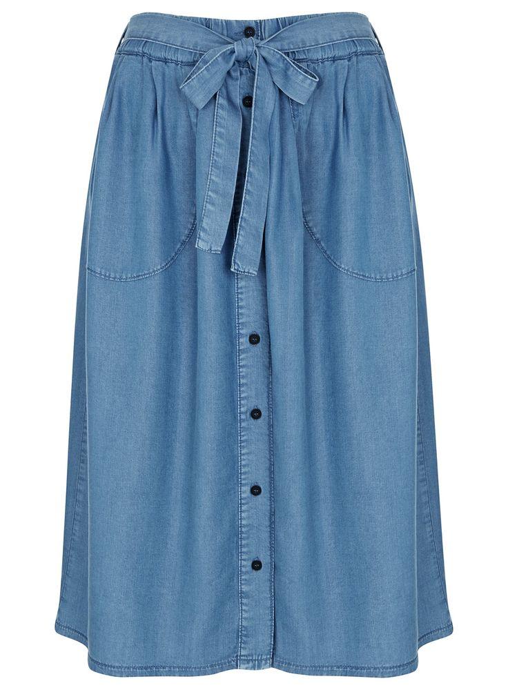 Photo 1 of Super Soft Denim Skirt