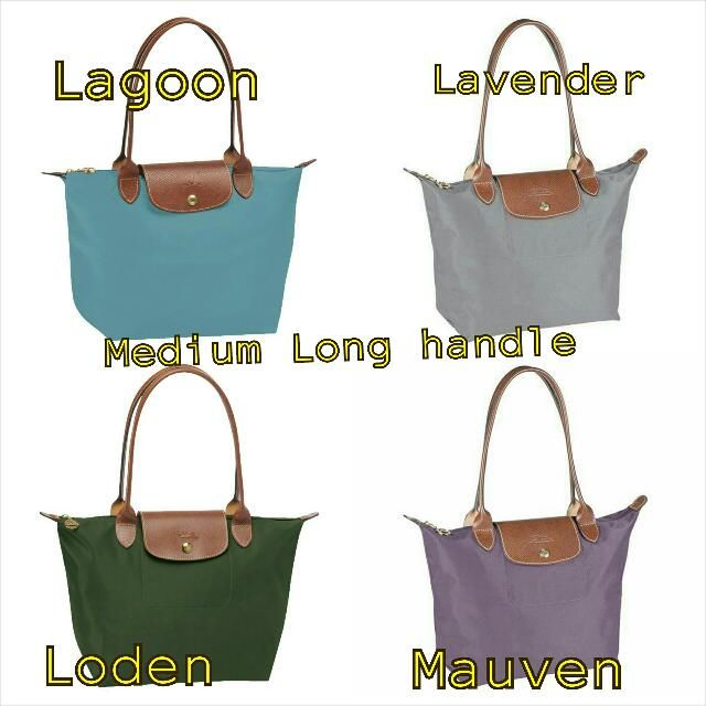Pre Order - Longchamp Le Pliage Medium Tote Bag Long Handle for $135 on  Carousell