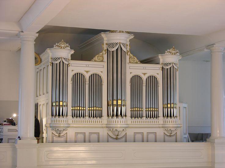 Zeist - Moravian Church. Organ by J.F. Witte (1883) by Piet on flickr