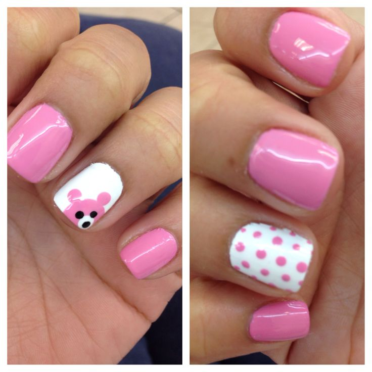 Nail art... I will get these again for a baby shower