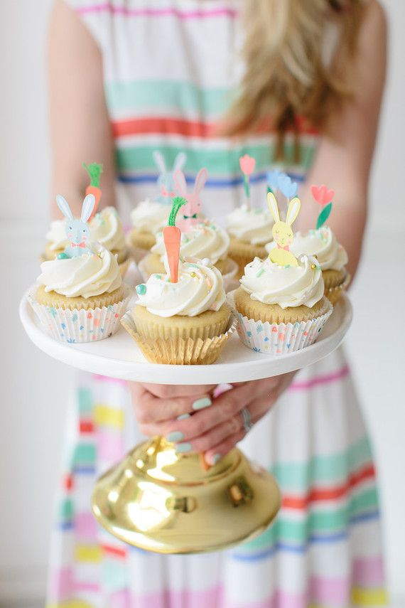 Modern Easter party ideas