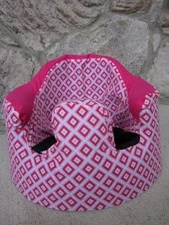 Bumbo seat cover (Free pattern and tutorial!) that's cool! my great nephew has one of those seats. his mom needs a cover for his :)