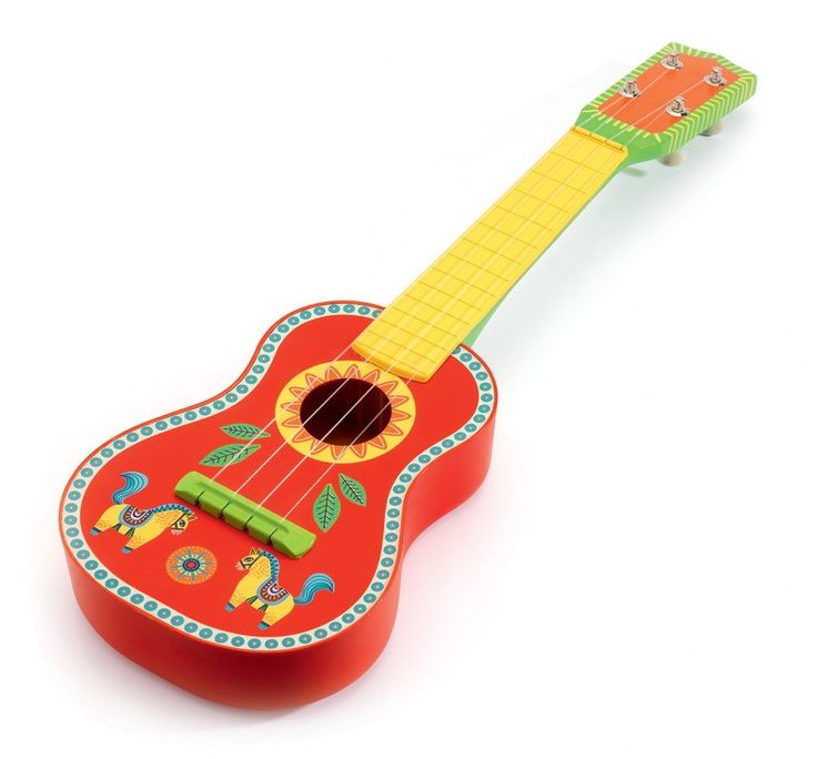 Djeco - Musical Instrument Animambo Guitar
