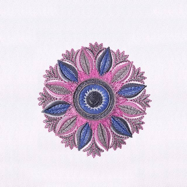 Finely Crafted Pastel Quilting Embroidery Design Embroidery Digitizing Program