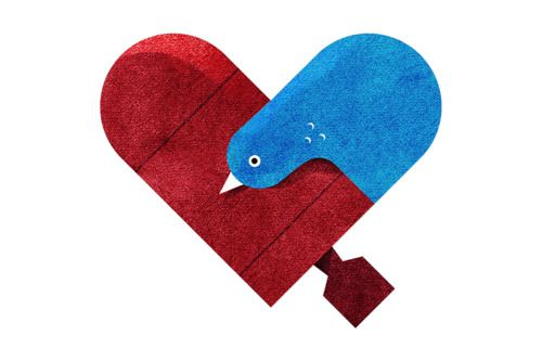Love and Hate Versus Hearts by Dan Matutina