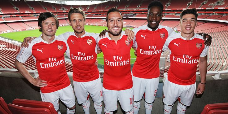 @Arsenal's 2015/16 @pumafootball home kit!  #ForeverArsenal