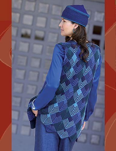 Ravelry: Harlequin Vest pattern by Jane Slicer-Smith