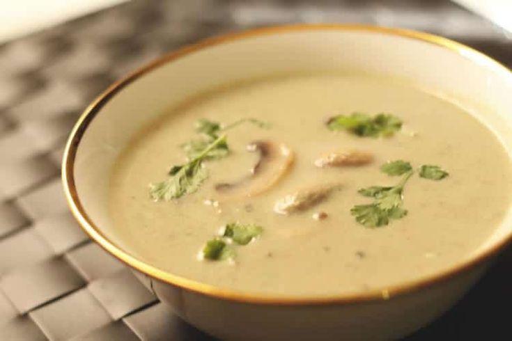 Soupe champignons de paris au thermomix | Soupe champignon ...