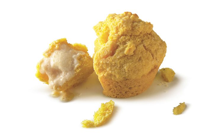 Cornbread Muffins with Maple Butter - Bon Appétit. See buttermilk substitute on 'Genius' board