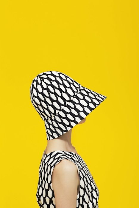 Marimekko Spring 2013 patterned hat