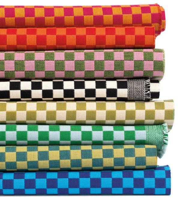 NeoCon Fabulous New Fabrics Checker Maharam Alexander Girard