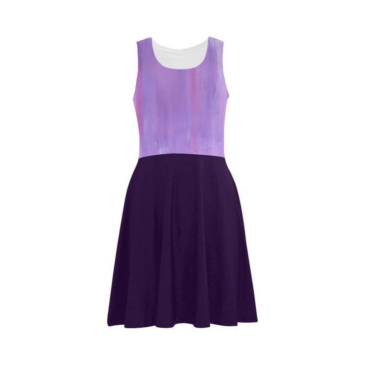 New in shop : Luxury designers dress Purple Atalanta Sundress (Model D04).