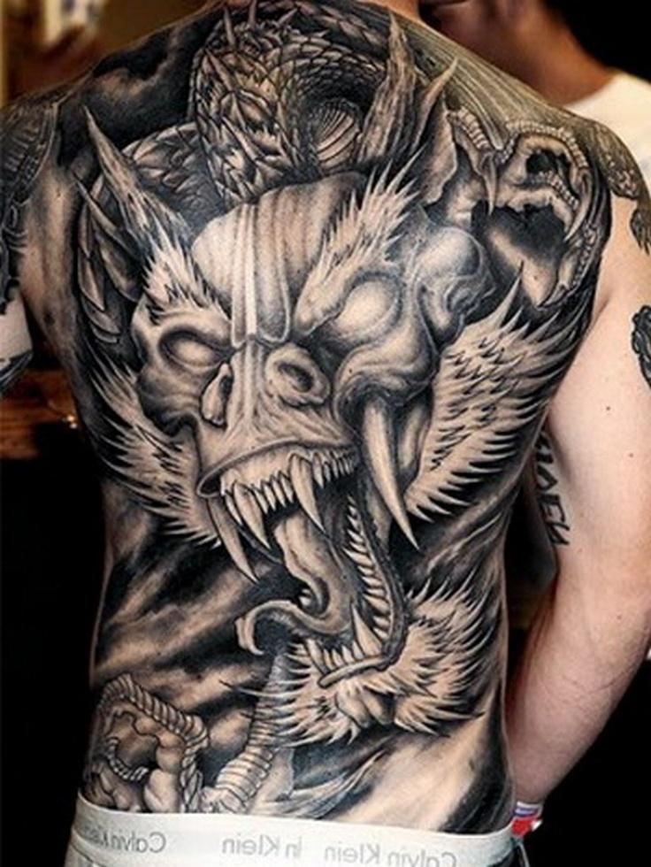 DRAGON TATTOO. sooo freakin' amazing! Dragon tattoo