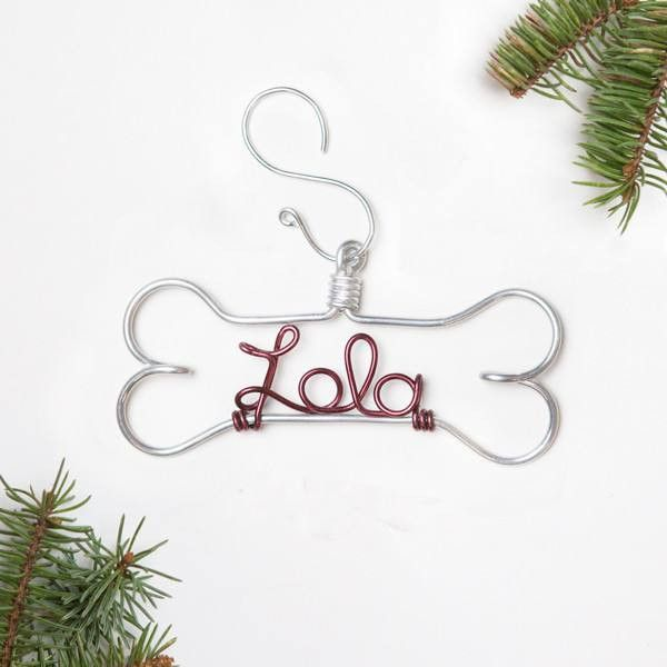 Personalized Dog Ornaments