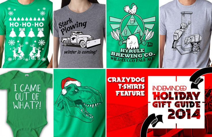 IM Holiday Gift Guide: CrazyDog T shirts Feature