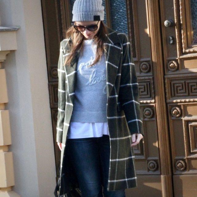 Wie kombiniert man den Karo Trend mit Wintermantel und Co?   Fashion Insider Magazin