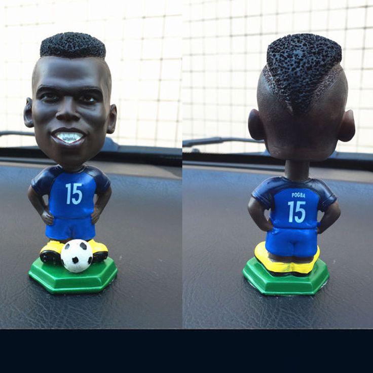 Soccerwe Spain European Soccer Star Lovely 12CM Action Figures Toys Fans Collection Football Dolls Gift Cronaldo Messi Neymar #Affiliate