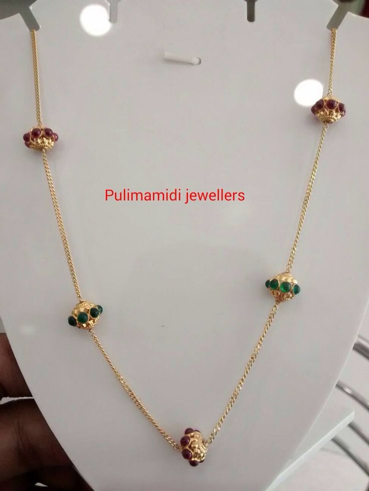 Simple beads chain