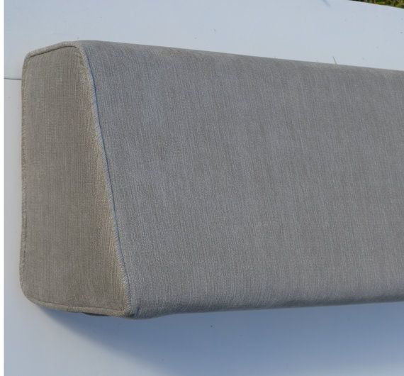 Daybed Wedge Bolster Cover Chenille Silver Physical