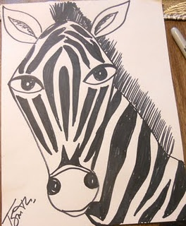 1000+ ideas about Zebra Drawing on Pinterest | Black Paper ...