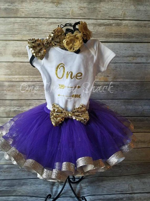 f7d1382aa Baby Girl 1st Birthday Purple and Gold First birthday 1st Birthday tutu  outfit Cake Smash Outfit 1st cake smash Purple Lavender tutu outfit  #firstbirthday ...