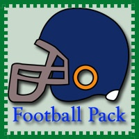 Free Football Pack from 3Dinosaurs.com. Over 40 pages. These Football printables are to be used with children from 2 to 7