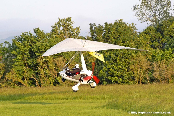 Pegasus Quasar 503 #aircraft #aviation #microlight #ultralight #flexwing #piston #gmwiu #strathallan #scotland #uk