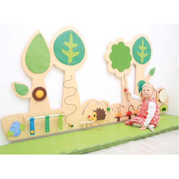 Ścianka manipulacyjno-sensoryczna LAS #moje bambino  http://www.mojebambino.pl/kaciki-manipulacyjno-sensoryczne/1541-scianka-manipulacyjno-sensoryczna-las-1.html