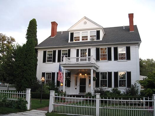 maine stay inn, kennebunkport - i want to go back and never leave