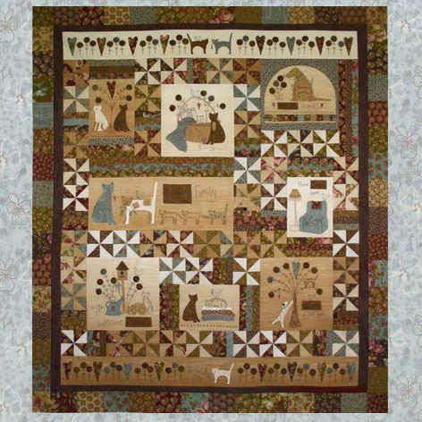 """""""a kitten's tale"""" quilt pattern created by lynette ..."""