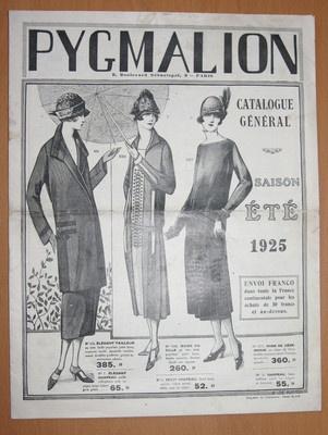 Pygmalion catalogue mode ete 1925 couture chapeaux chaussures art deco h - Pinterest couture deco ...