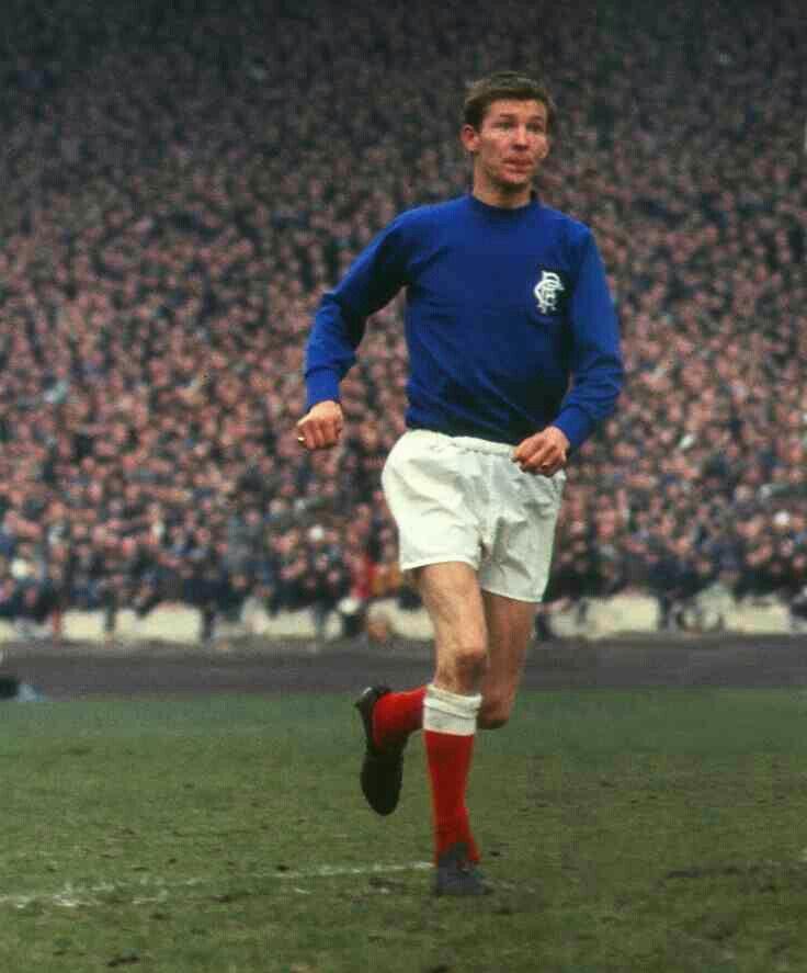 Alex Ferguson of Rangers in 1969.