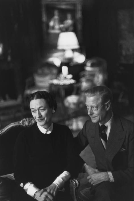 Henri Cartier-Bresson  FRANCE. Paris. 1951. Prince Edward, Duke of Windsor with his wife at their home, rue de la Faisanderie