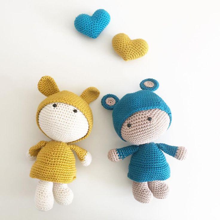 Amigurumi, crocheted toys made by MiTxoko.