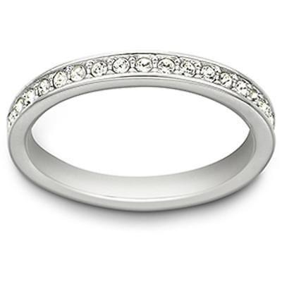 Swarovski Rare Ring White Rhodium Plated 1121067 Ebay Link Swarovski Rings Silver Swarovski Crystal Rings Swarovski Ring