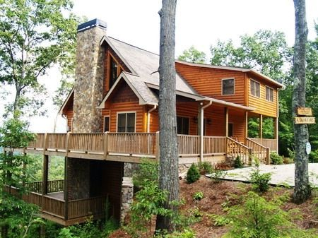 Emailed Blue Ridge Cabin Rental: Aska Adventure Area With Ga, Nc &tn Mountain & Lake Blue Ridge Views! | HomeAway