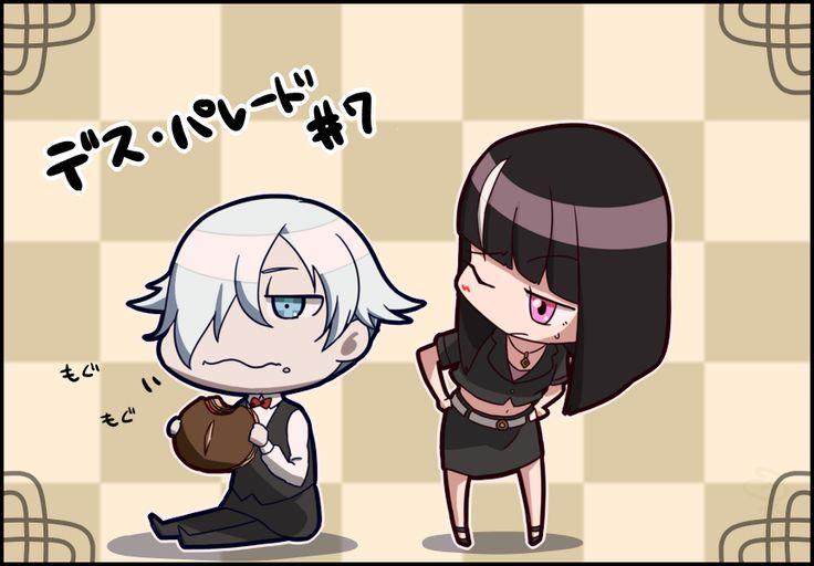 Death Parade, Decim and Chiyuki