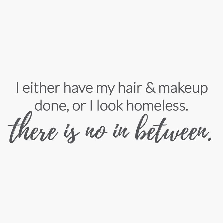 "M.O.T.D Cosmetics | ""I either have my hair & makeup done, or I look homeless. There is no in between."" 
