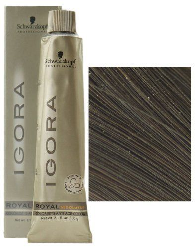 Schwarzkopf Professional Igora Royal Absolutes Hair Color - 5-60 Light Brown Gold Natural * More details can be found by clicking on the image. #hairrepair