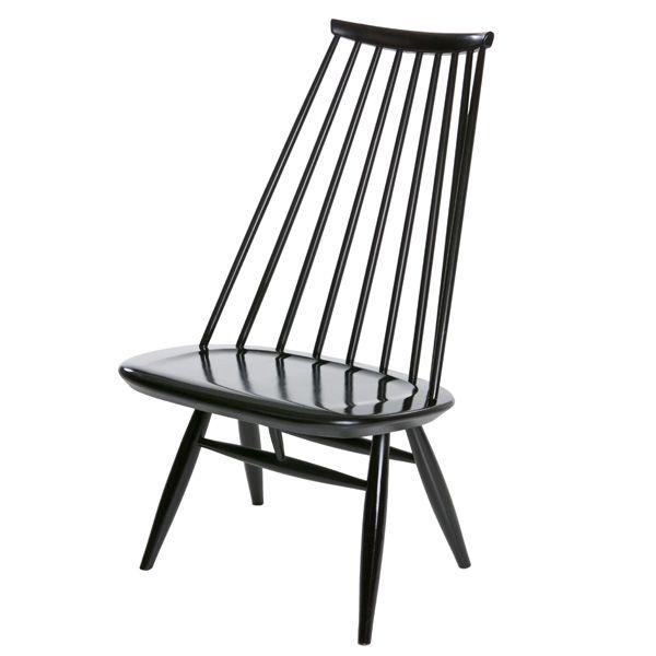 Mademoiselle chair, black