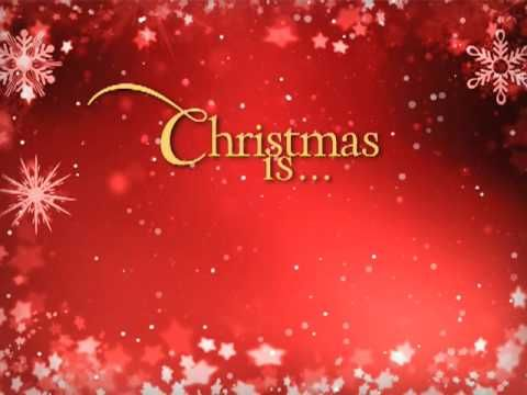 What is Christmas all about? Love, peace, joy? Yes! Because Christmas is about Jesus Christ!