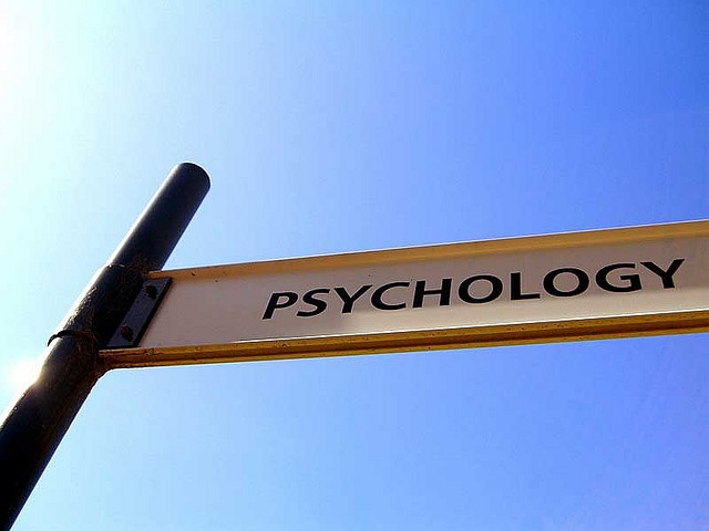 Psychology Clinic, the street sign is supposed to read.    Murdoch University, Perth, Australia.