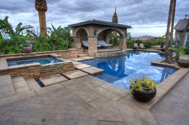 101 best pool design images on pinterest small swimming for Pool design 101