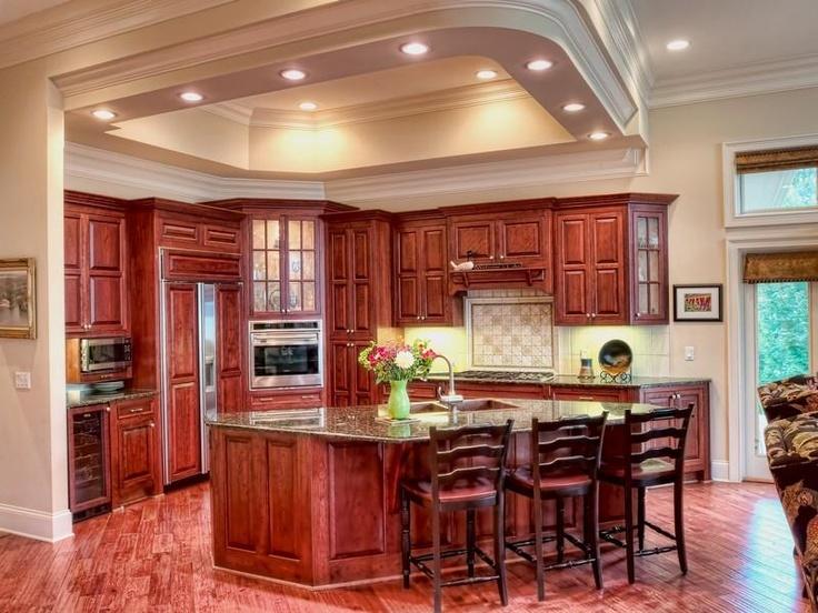 so beautiful!Beautiful Kitchens, Cabinets Colors, Dreams Kitchens, House Ideas, Kitchens Ideas, Home Kitchens, Kitchens Layout, Kitchen Layouts, Open Kitchens