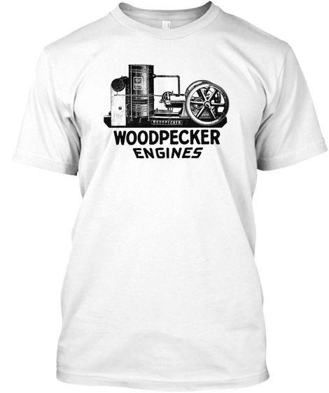 Woodpecker Hit Miss Gas Engine Farm