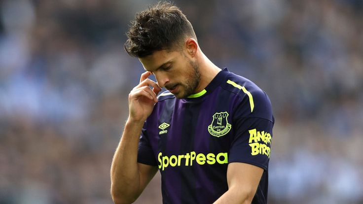 Kevin Mirallas (pictured) and Morgan Schneiderlin were both sent away from a training session at Everton on Saturday