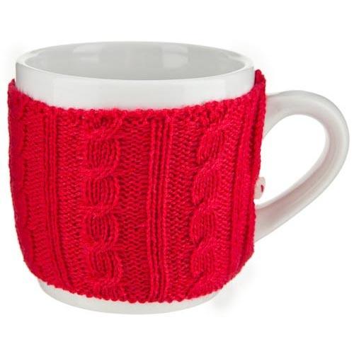 Cosy Mug with Sweater   Poundland