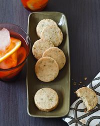 Rosemary, Almond and Parmesan Cocktail Cookies Recipe on Food & Wine