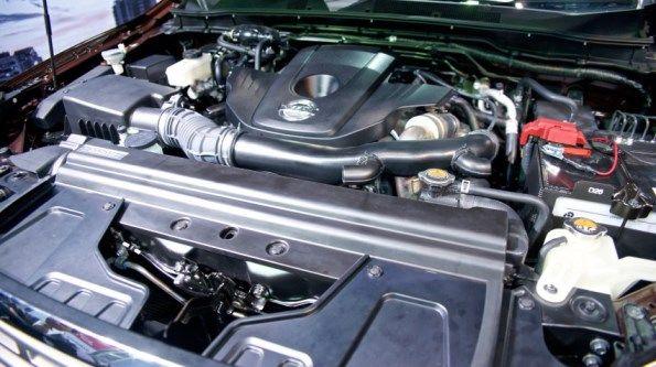 Engine of #Nissan #Navara #PickupTruck 2015. New Model Nissan Navara NP300 Bangkok, Thailand available for export at Jim Autos Thailand http://toyota-dealer.org/2015-nissan-navara-np300.html